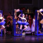 Soldier Dolls jumping in 2015 RMDT Nutcracker performance