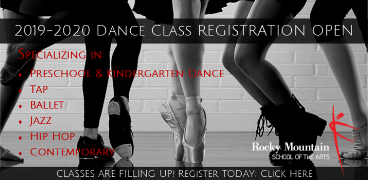 Registration open for tap, jazz, hip hop, ballet, contemporary, preschool, kindergarten